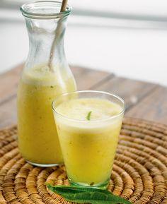 Recette fraîcheur : jus d'ananas au gingembre et au tilleul