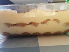 Olasz tiramisu recept lépés 4 foto Tiramisu, Ale, Pudding, Desserts, Food, Tailgate Desserts, Deserts, Ale Beer, Custard Pudding