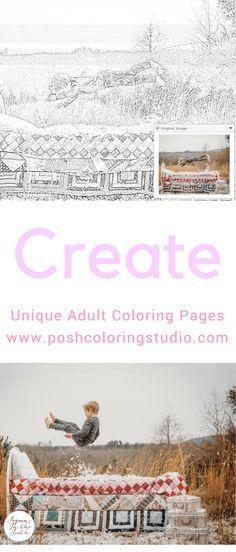 This coloring studio