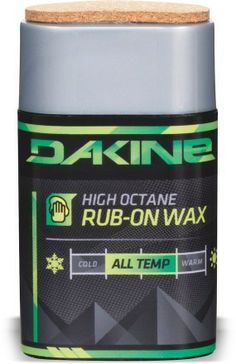 The DAKINE High Octane Rub-On wax provides hot wax performance without the hassle and time committment. #REIGifts