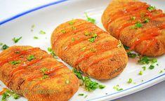 Crochete de cartofi cu carne tocata - video Romanian Food, Romanian Recipes, 30 Minute Meals, Other Recipes, Easy Recipes, Potato Recipes, Tandoori Chicken, Quick Easy Meals, Food Videos