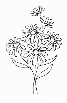 Daisy Coloring Pages – coloring. - - daisy flowers s Hawaiian Flower Drawing, Daisy Flower Drawing, Flower Tattoo Drawings, Daisy Flower Tattoos, Floral Drawing, Flower Art, Daisy Flowers, Daisy Daisy, Daisy Girl