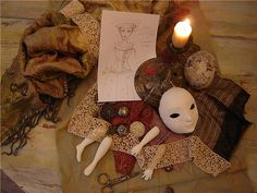 Imazing dolls, pappier mache + many other stuff