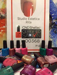 Diventa anche tu CND Shellac Certified Salon come STUDIO ESTETICA RITA. Professionalità, qualità e competenza...e i prodotti CND. http://www.cndworld.it http://www.cndworld.it/store-locator