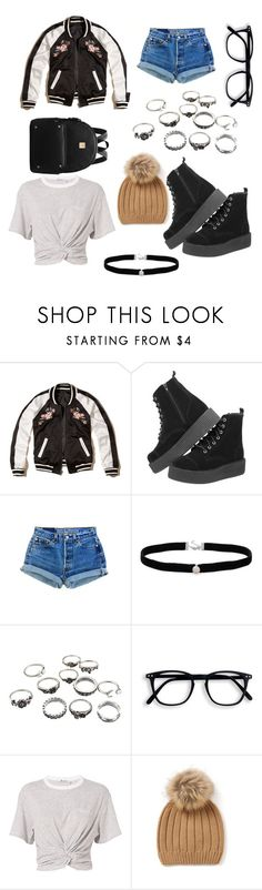 """""""OOTD"""" by sara-melgar on Polyvore featuring Hollister Co., Amanda Rose Collection and T By Alexander Wang"""