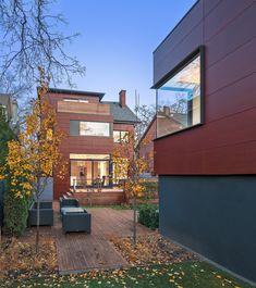Toronto Residence #2 featuring Parklex Wood Veneer Facade.