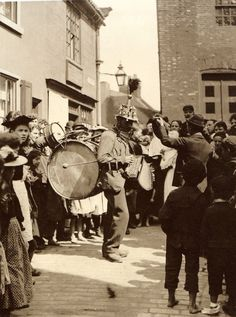 Church Sreet - Whitby - North Yorkshire - England - Late 1800s - It's Burt, from Mary Poppins!!!