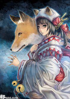 Manga Illustrations by Wuduo