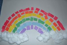 The Active Toddler: Rainbow Craft Projects - Toddlers & Preschoolers
