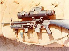 The Vietnam era XM16E1
