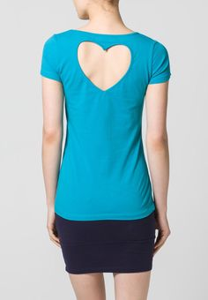 Even - T-Shirt basic - turquoise, could do it myself...