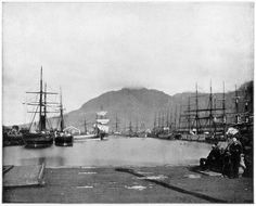 Cape Town South Africa late 19th century Photograph from Portfolio of Photographs of Famous Scenes Cities and Paintings by John L Stoddard published...