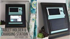 Support et chargeur DIY pour smartphone
