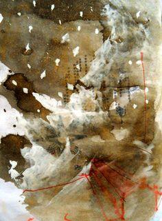 Daily Art Journal. Terrific and simple.  enriquemate:  Mountain retreat Enrique Maté