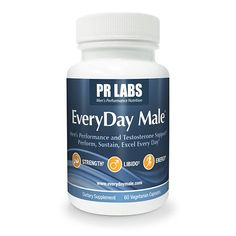 EveryDay Male Testosterone and Energy Booster for Better Male Performance *** Find out more about the great product at the affiliate link Amazon.com on image.