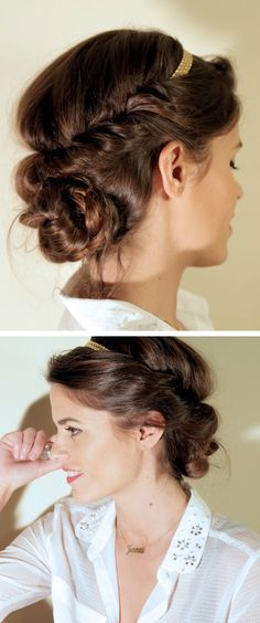 Messy Romantic Updo - Tutorial -xoxo #themommychannel