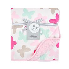 Carter's Butterfly Valboa Blanket