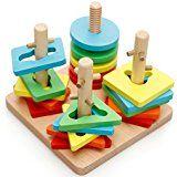 Melissa & Doug 10582 Gioco Geometrico Ad Incastro: Amazon.it: Giochi e giocattoli