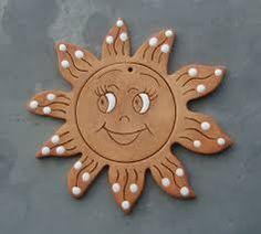 Bildergebnis für vánoční keramické výrobky Painting For Kids, Art For Kids, Hand Built Pottery, Paper Flower Tutorial, Clay Ornaments, Painted Pots, Foam Crafts, Sculpture Clay, Polymer Clay Crafts