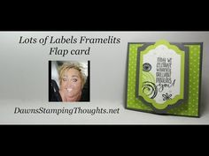 Lots of Labels Flap card - YouTube