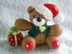 Recuerdos Y Adornos De Navidad En Masa Flexible
