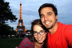 Fernando Zuelgaray y Noelia Battista en Paris
