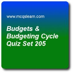 Budgets and Budgeting Cycle Quiz - MCQs Questions and Answers - Online Cost Accounting Quiz 205 Quiz With Answers, Trivia Questions And Answers, Economic Value Added, Accounting Exam, Question And Answer, This Or That Questions, Online Budget, Online Trivia, Regression Analysis