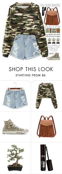 """""""Romwe 10"""" by scarlett-morwenna ❤ liked on Polyvore featuring Converse, Crate and Barrel and vintage"""