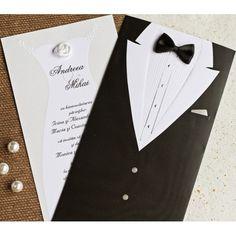 Hay buscar la elegancia en un evento desde el primer momento, para ello es vital escoger unas invitaciones de boda acordes. #invitacionesdeboda