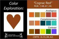 Cognac Red