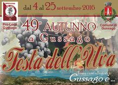 49 Festa dell'Uva a Gussago http://www.panesalamina.com/2016/51470-festa-delluva-a-gussago.html
