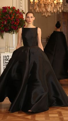 Beautiful Outfits, Beautiful Clothes, Dress To Impress, Ball Gowns, Formal Dresses, Color Black, Weddings, Classic, Party