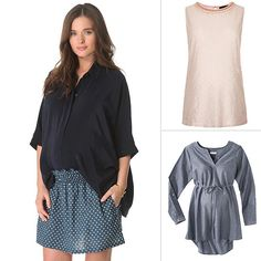 5 Maternity Tops Every Mom-to-Be Should Own