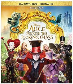 Alice Through the Looking Glass (2016) ... Alice (Mia Wasikowska) returns to London and to the fantastical realm of Underland and her friends and the Mad Hatter (Johnny Depp) who has lost his Muchness, so Mirana (Anne Hathaway) sends Alice on a quest to borrow the Chronosphere, a metallic globe which powers all time. Returning to the past, she comes across friends and enemies at different points in their lives, and embarks on a perilous race to save the Hatter before time runs out…