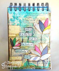 Art Journal - Zoey (Scrapsaurus)
