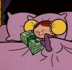 How i sleep at night