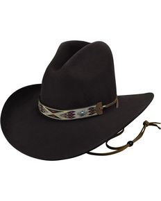 Bailey Men s Black Hickstead Cowboy Hat 3f119a7017cd