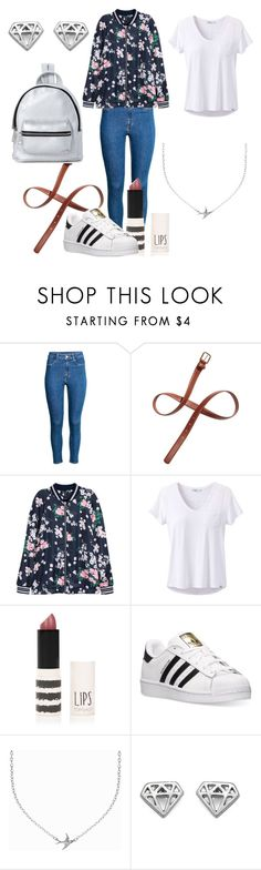 """FALLing in Love"" by xgingerlovex ❤ liked on Polyvore featuring H&M, prAna, Topshop, adidas, Minnie Grace and Madden Girl"