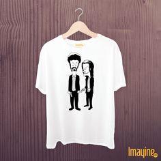 Camiseta Pulp Fiction (Beavis and Butthead)