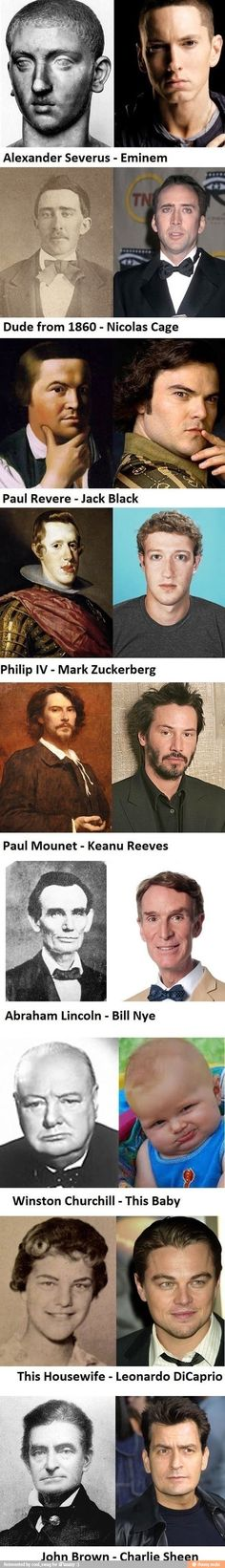 Celeb look alikes