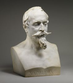 Jean-Baptiste Carpeaux: Bust of Napoleon III