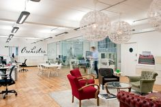 Orchestra's London Loft Offices