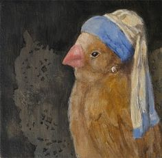 Bird with a Pearl Earring