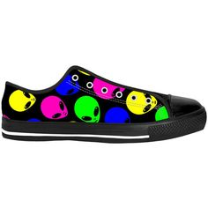 Neon Alien Shoes (€80) ❤ liked on Polyvore featuring shoes, neon shoes and fluorescent shoes
