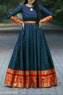 Half Saree Designs, Fancy Blouse Designs, Stylish Dress Designs, Kurta Designs, Stylish Dresses, Party Wear Indian Dresses, Indian Gowns Dresses, Indian Fashion Dresses, Saree Gown