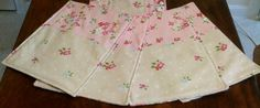 Set of 4 patchwork vintage style quilted by fionasLoveQuilts, £20.00