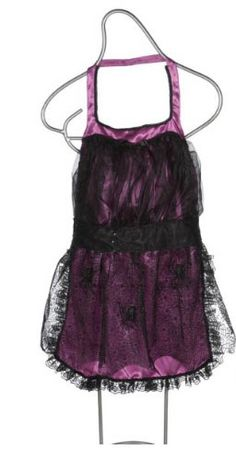 APRON with Spider Web Halloween Costume Fashion NEW @ niftywarehouse.com #NiftyWarehouse #Halloween #Scary #Fun #Ideas