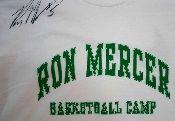 Ron Mercer autographed t-shirt from Vintage Basement - www.vintagebasement.com
