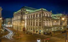 Vienna Opera House - 30'' long exposure of the Vienna Opera House.