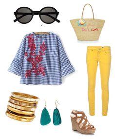 Designer Clothes, Shoes & Bags for Women Missoni, Jennifer Lopez, Rebecca Minkoff, Sunnies, Yves Saint Laurent, Shoe Bag, Spring, Polyvore, Stuff To Buy
